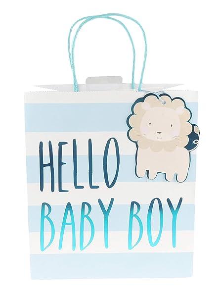 Bolsas De Regalo Para Bautizo.Pastel Baby Girl Boy Stripe Bolsa De Regalo Para Bautizo