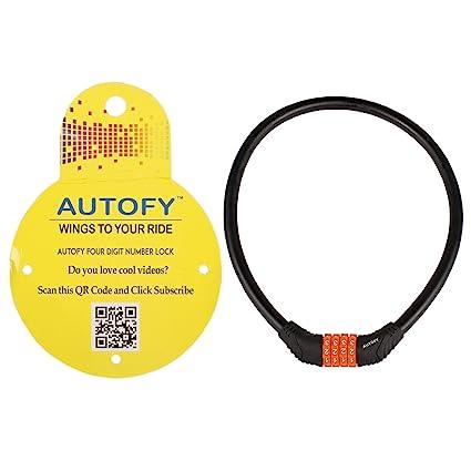 Autofy 4 digits universal multi purpose steel cable black and autofy 4 digits universal multi purpose steel cable black and orange fandeluxe Images