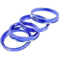 4x anillos de centrado de aluminio anodizado