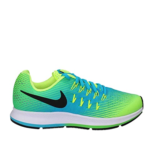 b758d23118af2 Nike Kids Zoom Pegasus 33 Little Kid/Big Kid Volt/Black/Chlorine ...