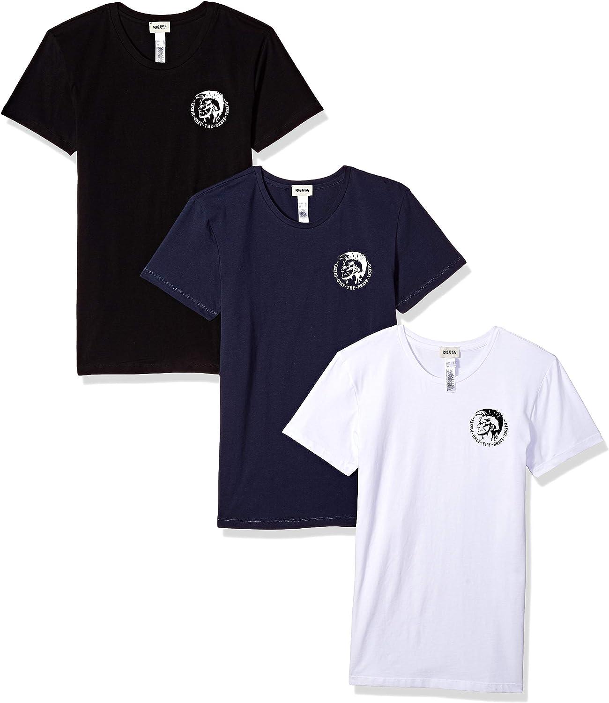 Diesel Men's Umtee-randalthreepack T-Shirt
