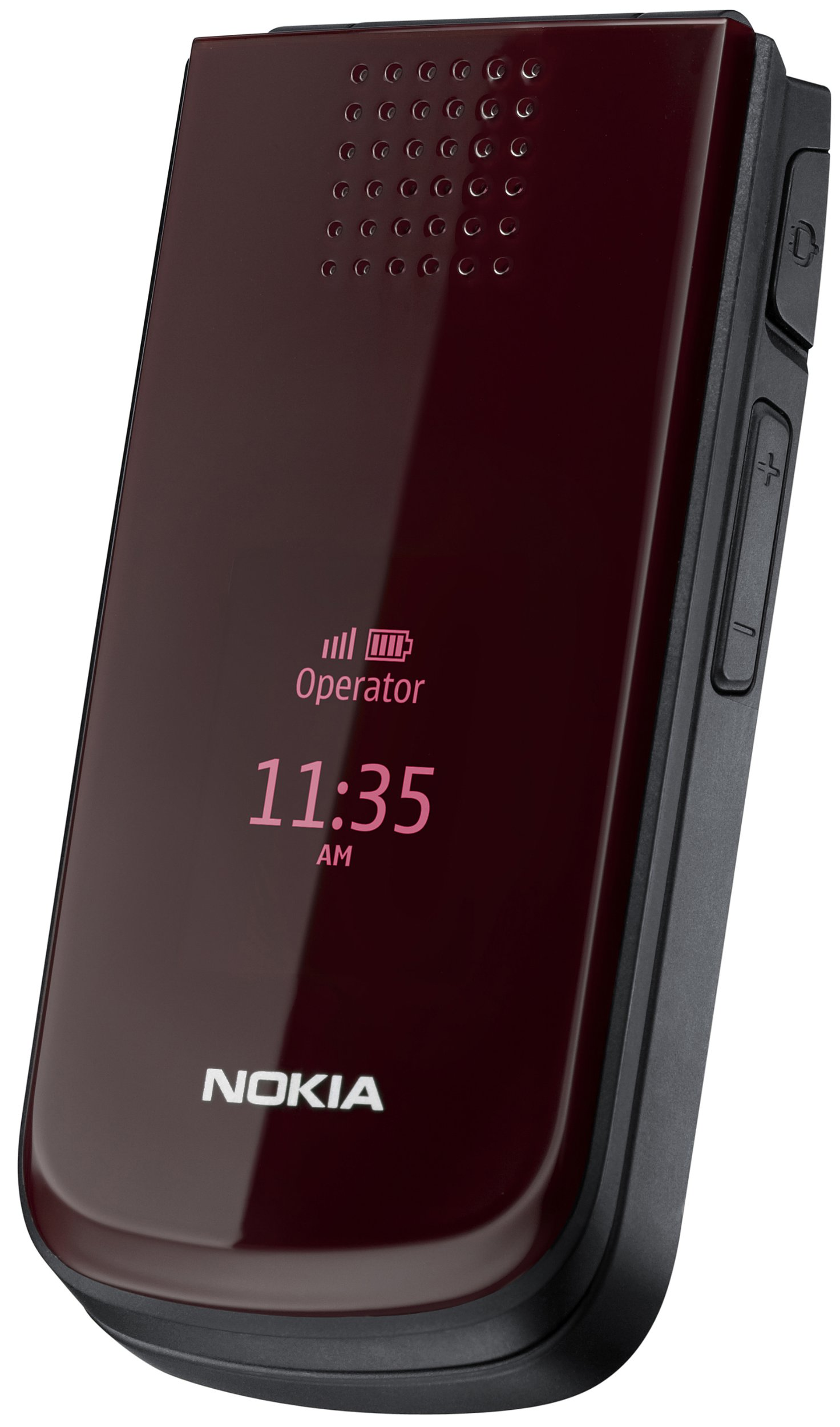 Nokia 2720 Fold - Mobile phone - GSM - folder (flip) - deep red