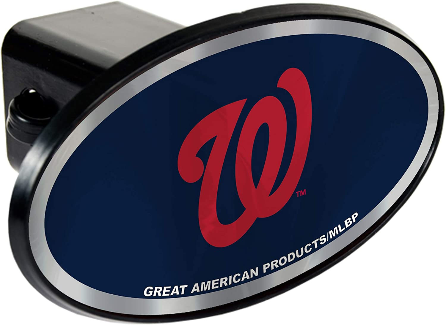 MLB Washington Nationals Tow Hitch Cover Plug w//pin for Car-Truck-SUV 2 Receiver