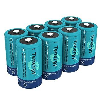 amazon com tenergy 10000mah nimh d battery rechargeable high
