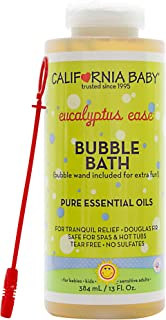 product image for California Baby Eucalyptus Ease Bubble Bath (13oz) Our invigorating eucalyptus essential oil blend helps you feel restored and rebalanced.