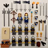 10 LEGO CASTLE KNIGHT MINIFIG LOT figures people