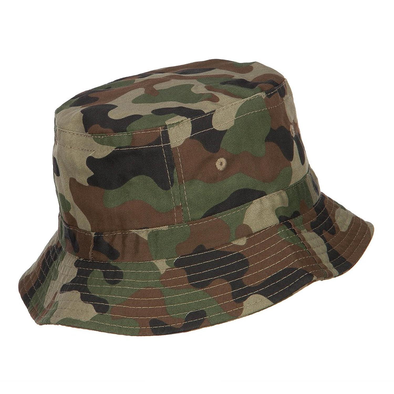E4hats Vietnam Veteran Embroidered Bucket Hat - Camo OSFM at Amazon ...