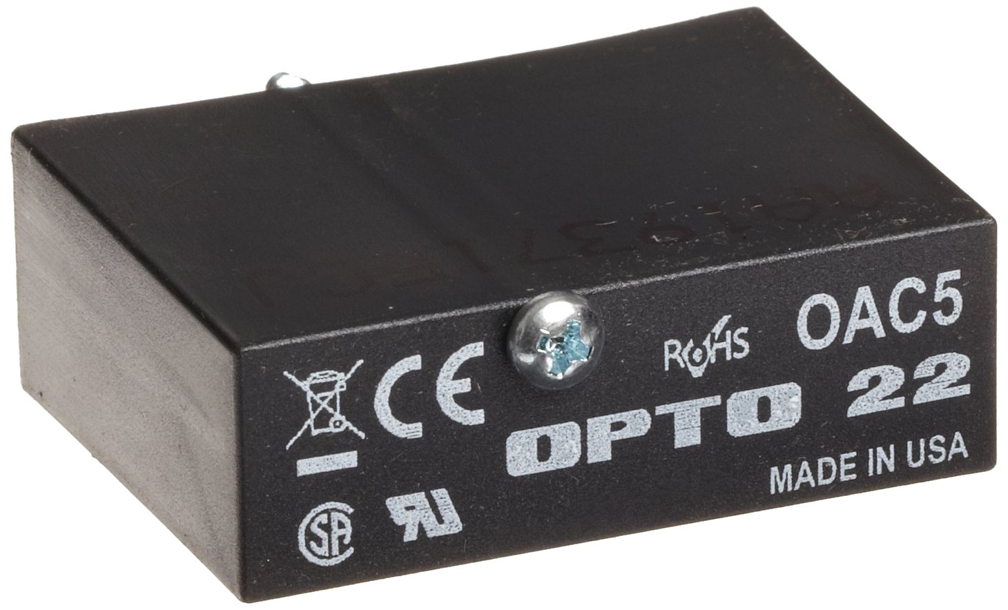 Opto 22 Oac5 Ac Output 12 140 Vac 5 Vdc Logic 4000 Vrms I O Spstno 40 Amp 100 Typical Condition Isolation 20 Milliamps Minimum Load Current Io Modules Industrial Scientific