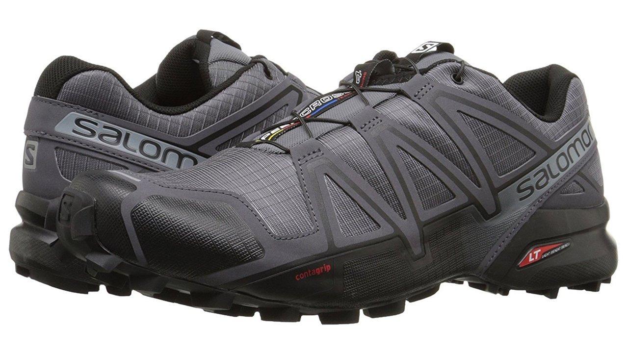 Salomon Men's Speedcross 4 Trail Runner, Dark Cloud, 7 M US by Salomon (Image #13)
