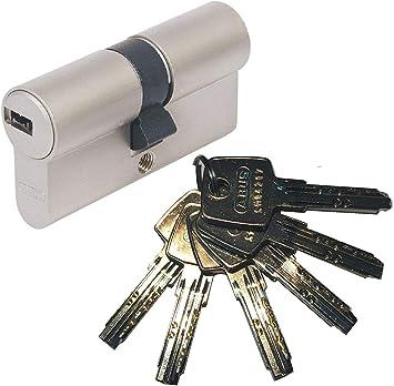 ABUS EC550 Doppelzylinder Schließzylinder 45//55mm mit 3 bis 10 Schlüssel