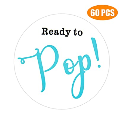amazon com 60pcs ready to pop stickers 2 about to pop popcorn