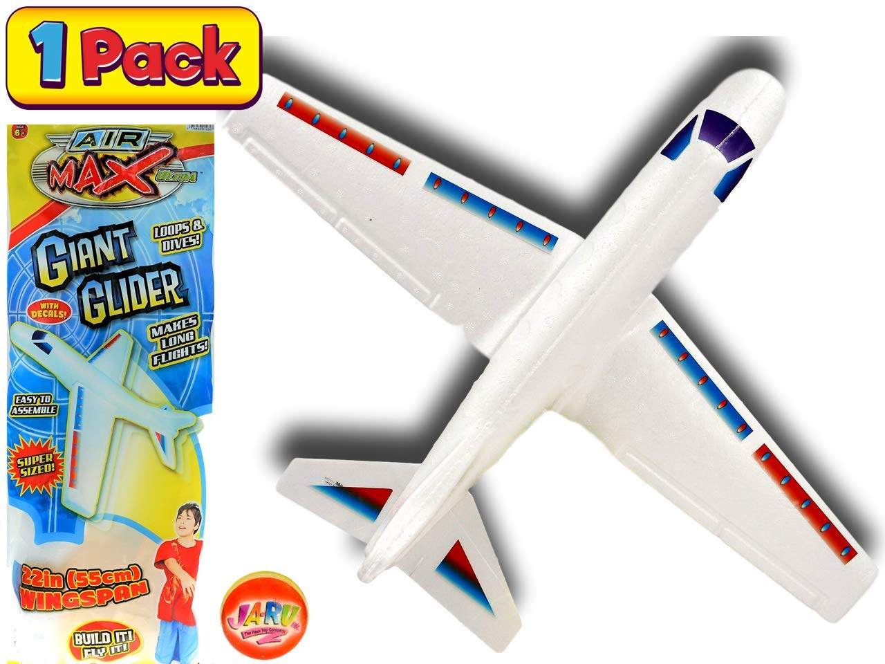 2GoodShop Giant Airplane Glider by Kids Fying Toy Build It, Throw It and Watch It Glide Hours of Outdoor Fun | Item #1030 by 2GoodShop
