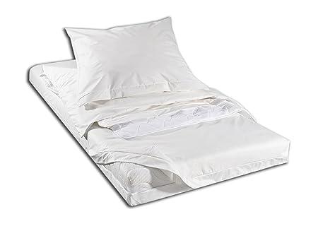 Fodera per materasso copertura completa 140 x 200 x 16 cm antiacaro Evolon