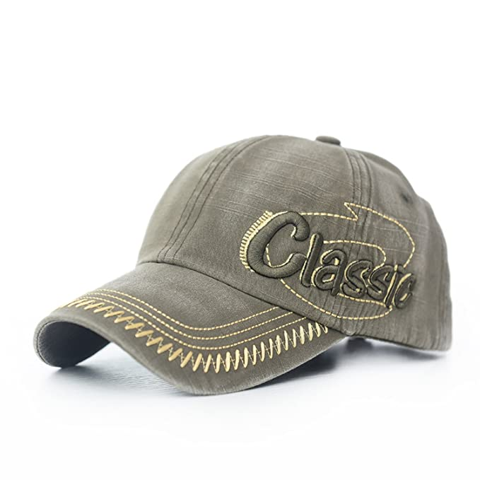 Fashion Baseball Cap for Men Women hat Gorras Snapback Caps Outdoors Cap,Army Green