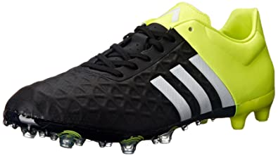 adidas Performance Men's Ace 15.2 FG/AG Soccer Shoe, Core Black/White/