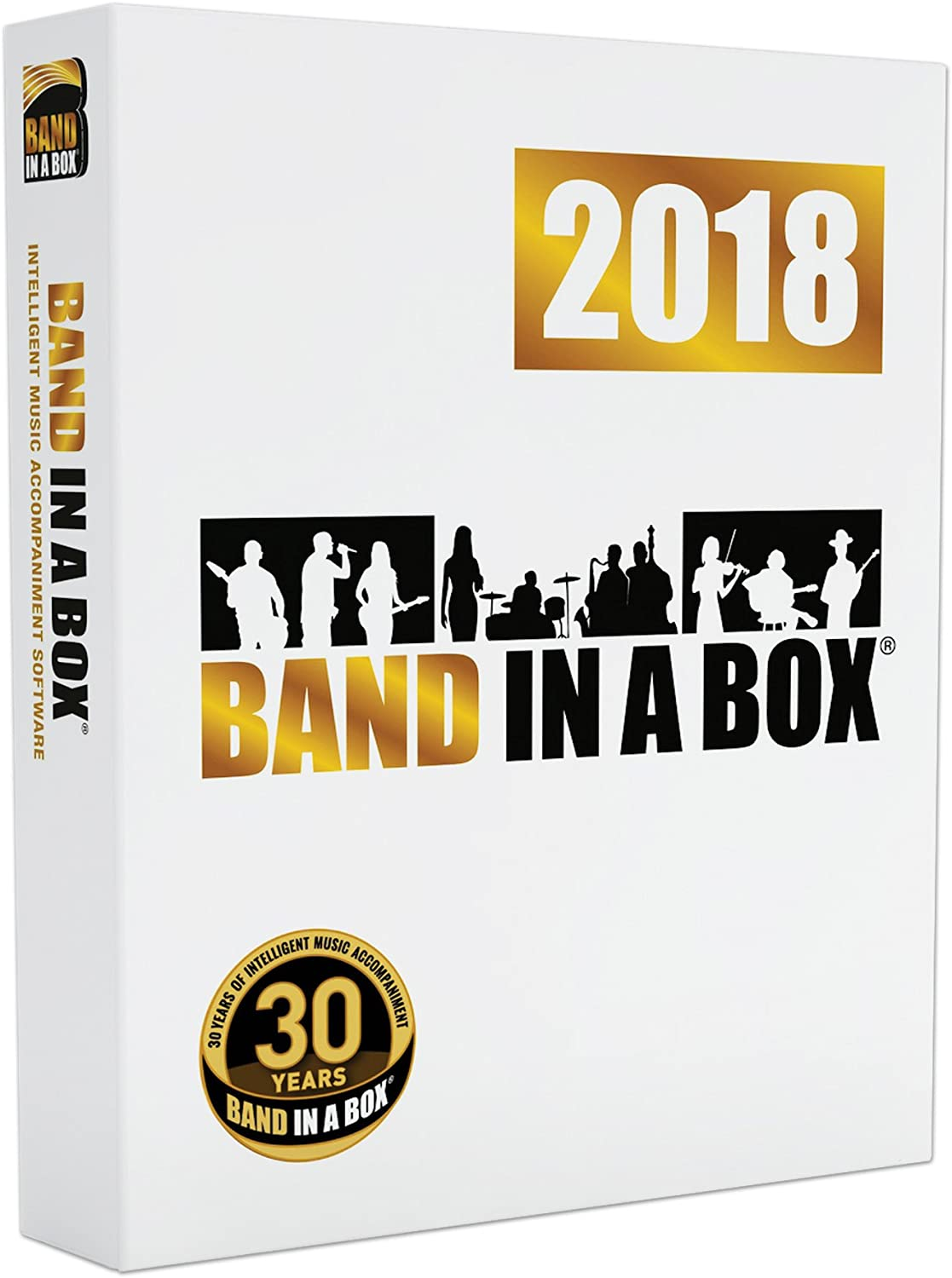 front facing Band-in-a-Box 2018
