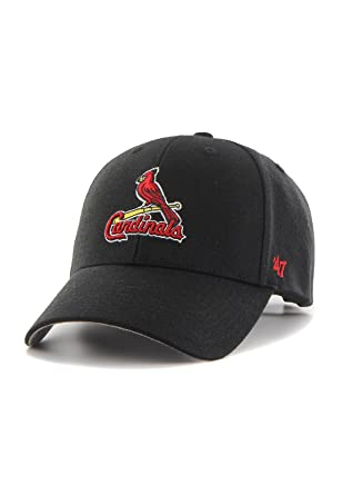 finest selection d5bc8 b499b  47 Brand MLB St Louis Cardinals Cap - Black