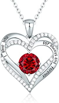 CDE Forever Love Heart Women's Necklace