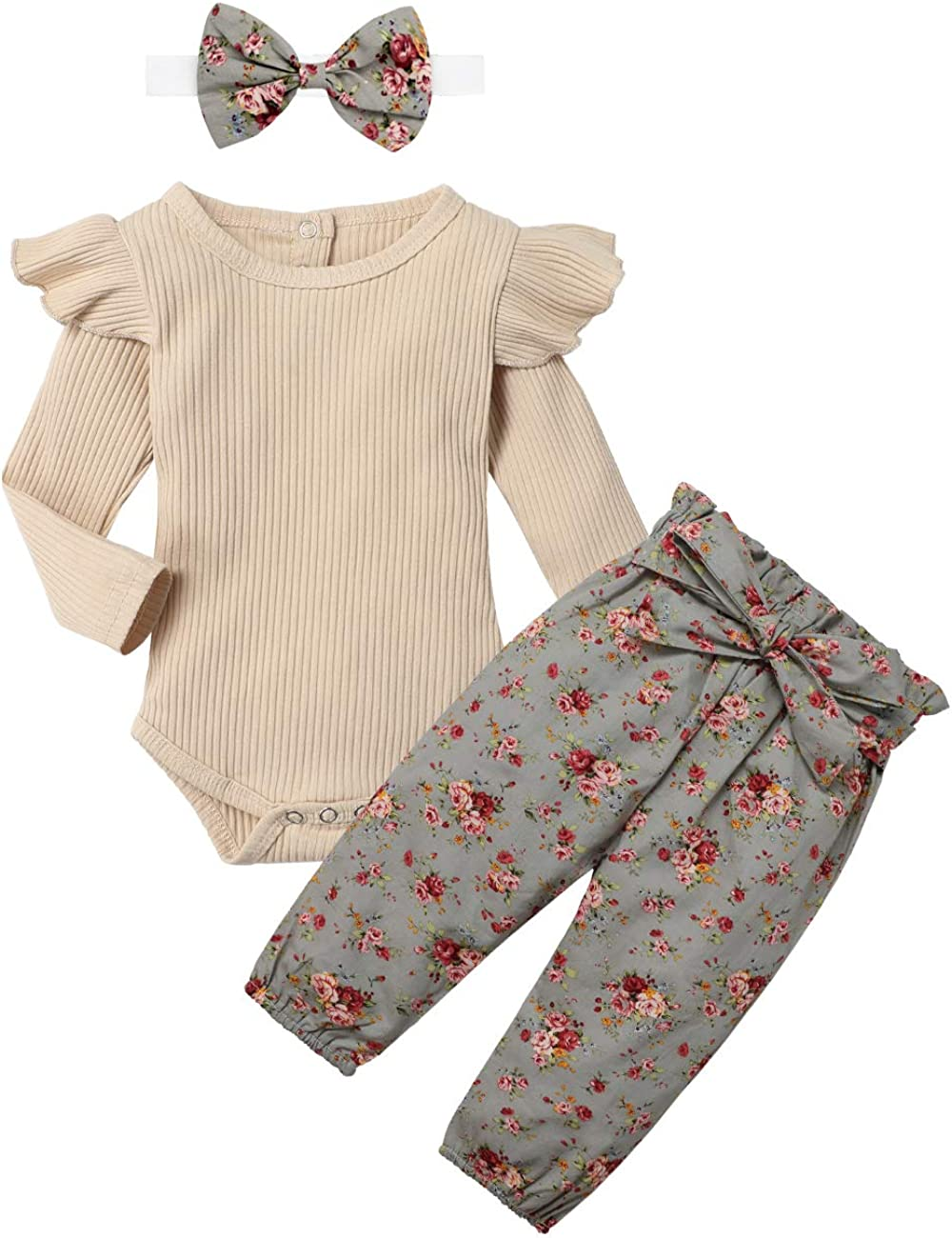 KANGKANG Newborn Baby Girls Clothes Cute Infant Baby Girl Clothes Baby  Clothes Girl 8pcs Winter Outfit