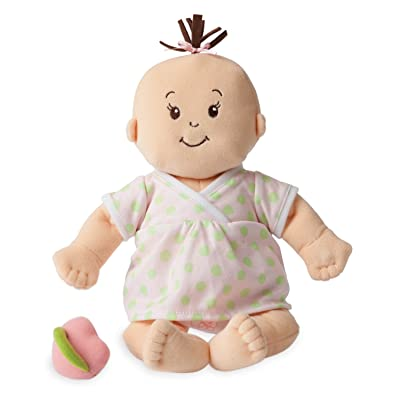 "Manhattan Toy Baby Stella Sweet Sounds Soft First Baby Doll for Ages 1 Year and Up, 15"": Toys & Games"