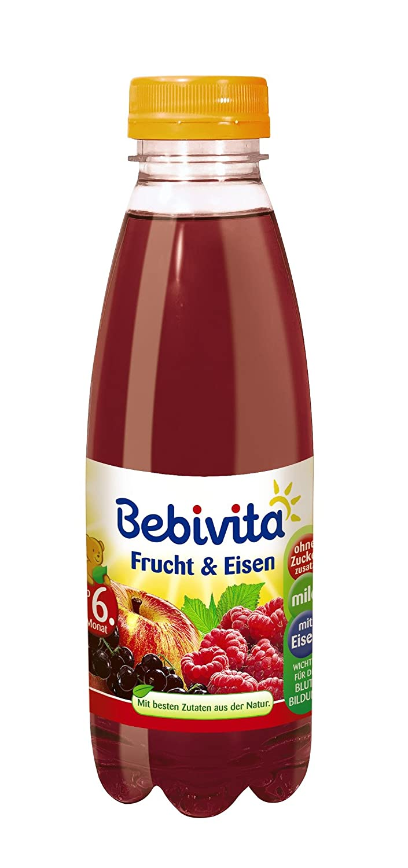 Bebivita Frucht & Eisen 1586, 6er Pack (6 x 0,5 l Flasche): Amazon ...