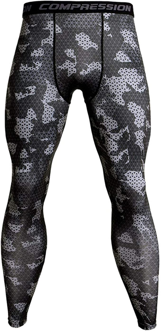 Amazon.com: Ronald Turner Compression Running Tights Men ...