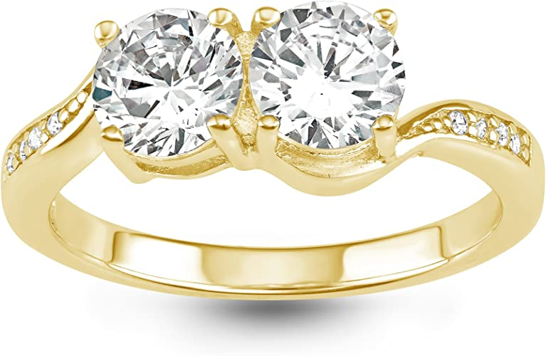 10K Yellow or White Gold 2x30mm Shiny Round Hoop Earrings with Hinged by Icedtime