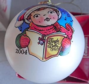 2004 Campbell's Soup Kids Glass Christmas Ornament