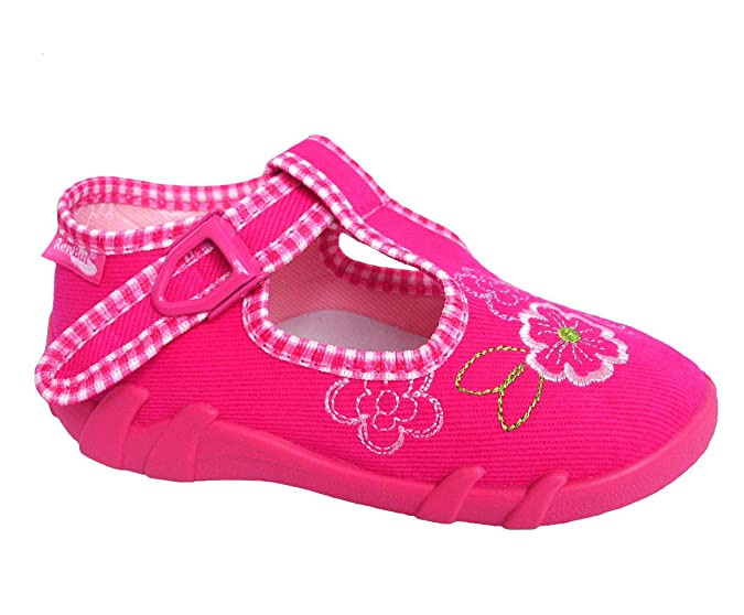 Raweks Mädchen Kinder Hausschuhe Kinderschuhe Ballerinas Einlegesohle Leder