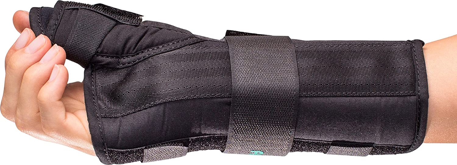 Aircast A2 Wrist Support Brace with Thumb Spica AC141WB02-L-L-Parent