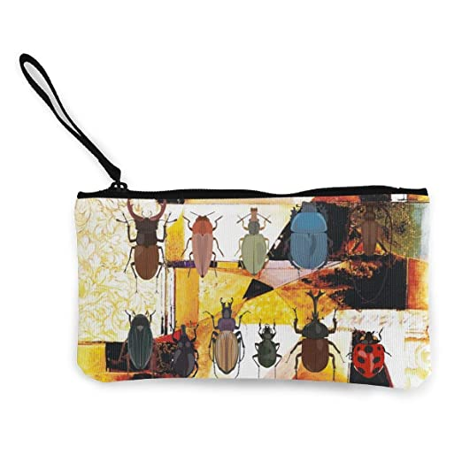 883eb51a8e17 Amazon.com: XIANGXIANG SHOP Different, Insect, Beetle Canvas Coin ...