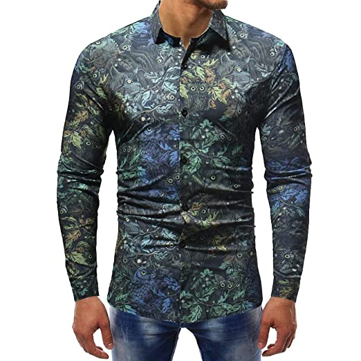 high fashion cute another chance Amazon.com: Men's Stylish Button Up Shirt Slim Fit Long ...