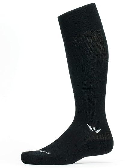 15b5ed518ea91 Swiftwick – Socks for Snow Sports, PURSUIT TWELVE | Moisture Wicking Soft  Merino Wool,