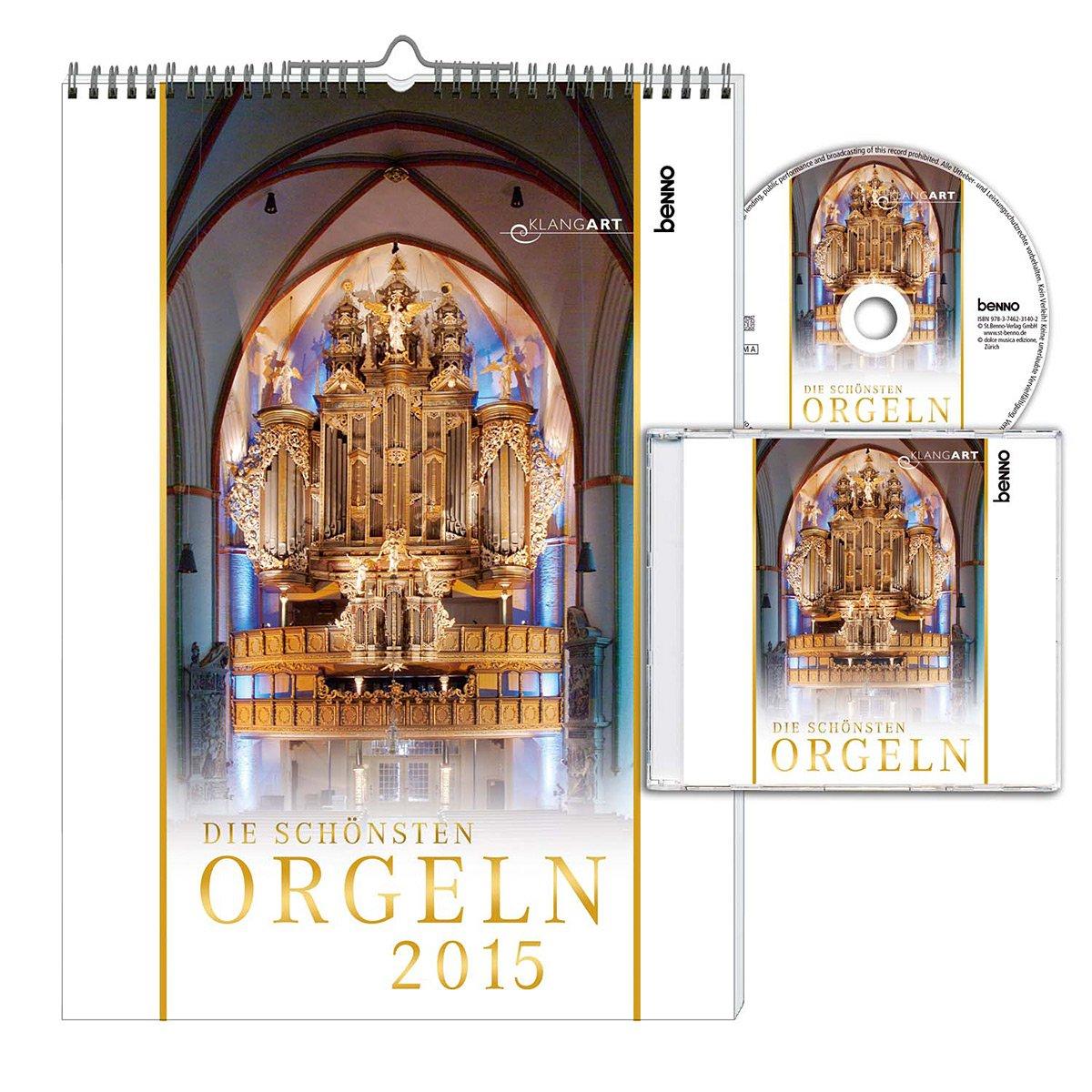 Die schönsten Orgeln 2015 mit CD