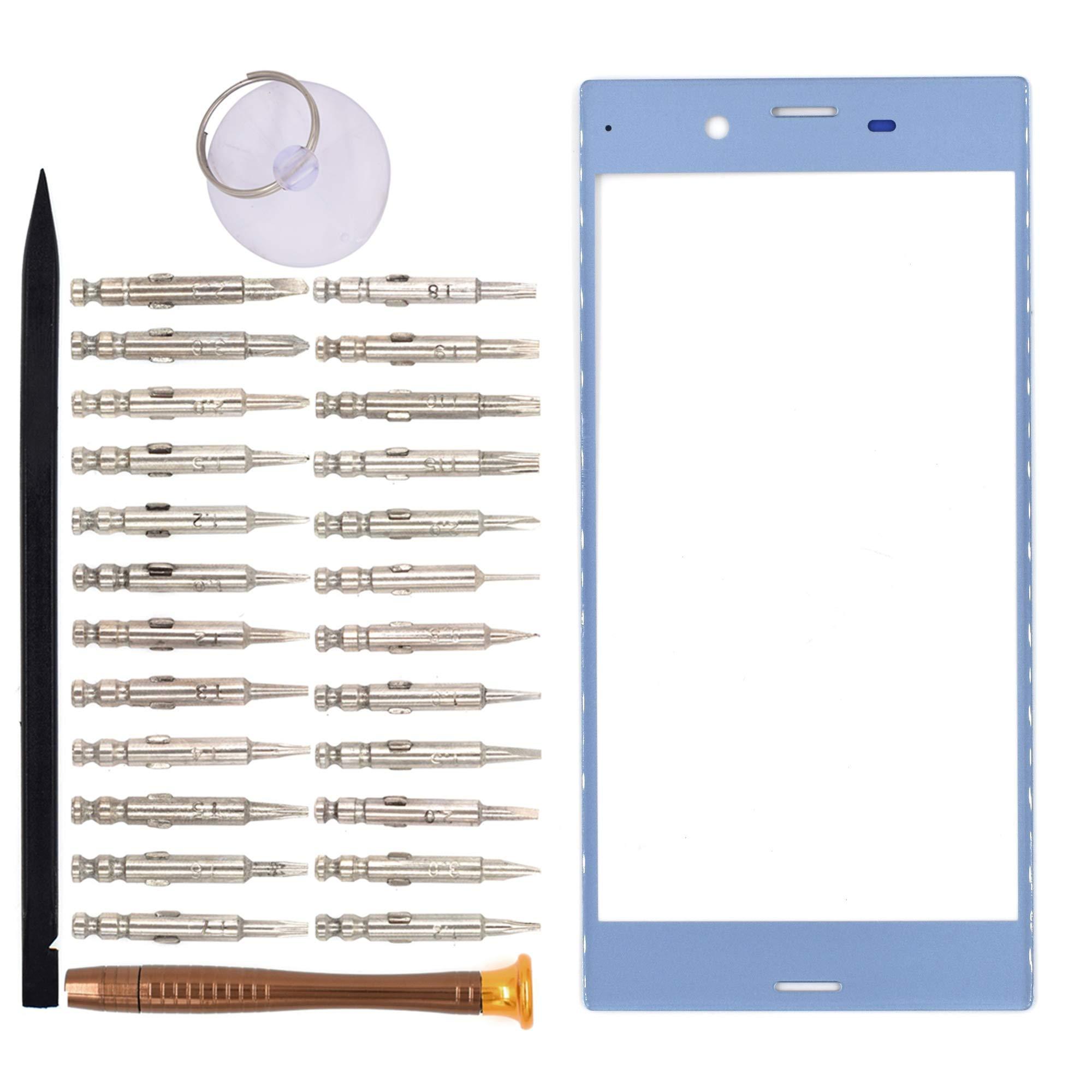Vidrio Frente para Sony Xperia XZs azul [GOODYITOU]