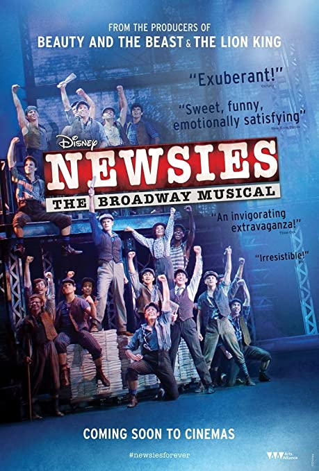 Image result for newsies movie poster