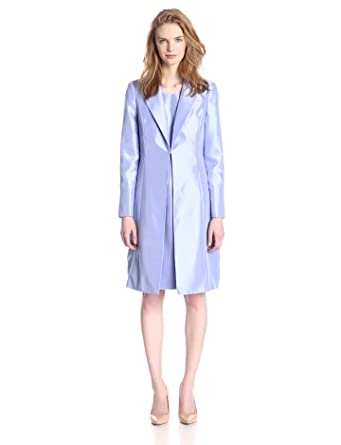 Amazon.com: Le Suit Women's Notch Collar Jacket and Dress Set ...
