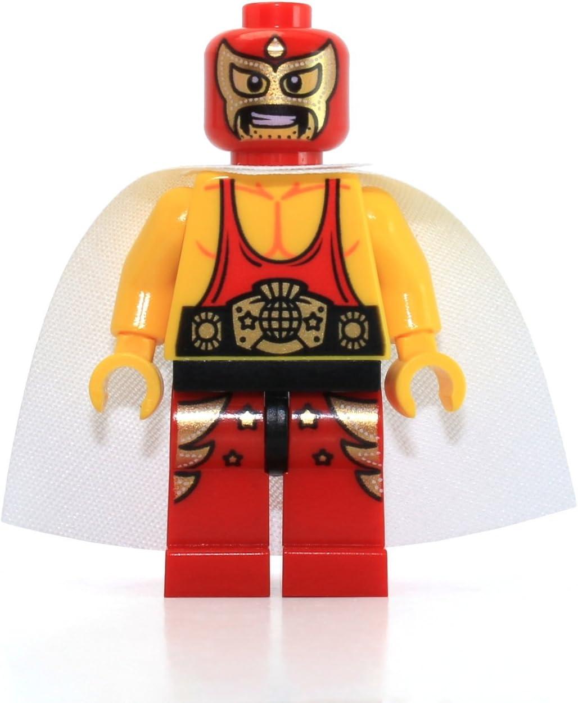 The LEGO Movie MiniFigure - El Macho the Wrestler (From Set 70809)
