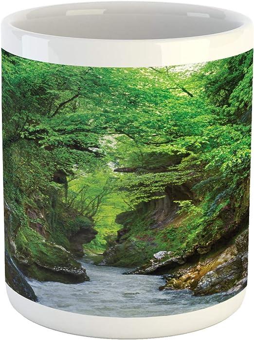 "Forest Green Georgian Water Tumbler 4/"" Tall x 3/"" Wide 10 oz."