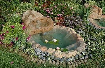 Étang de Jardin cascade mini Tivoli cM185 x 120 complète de ...