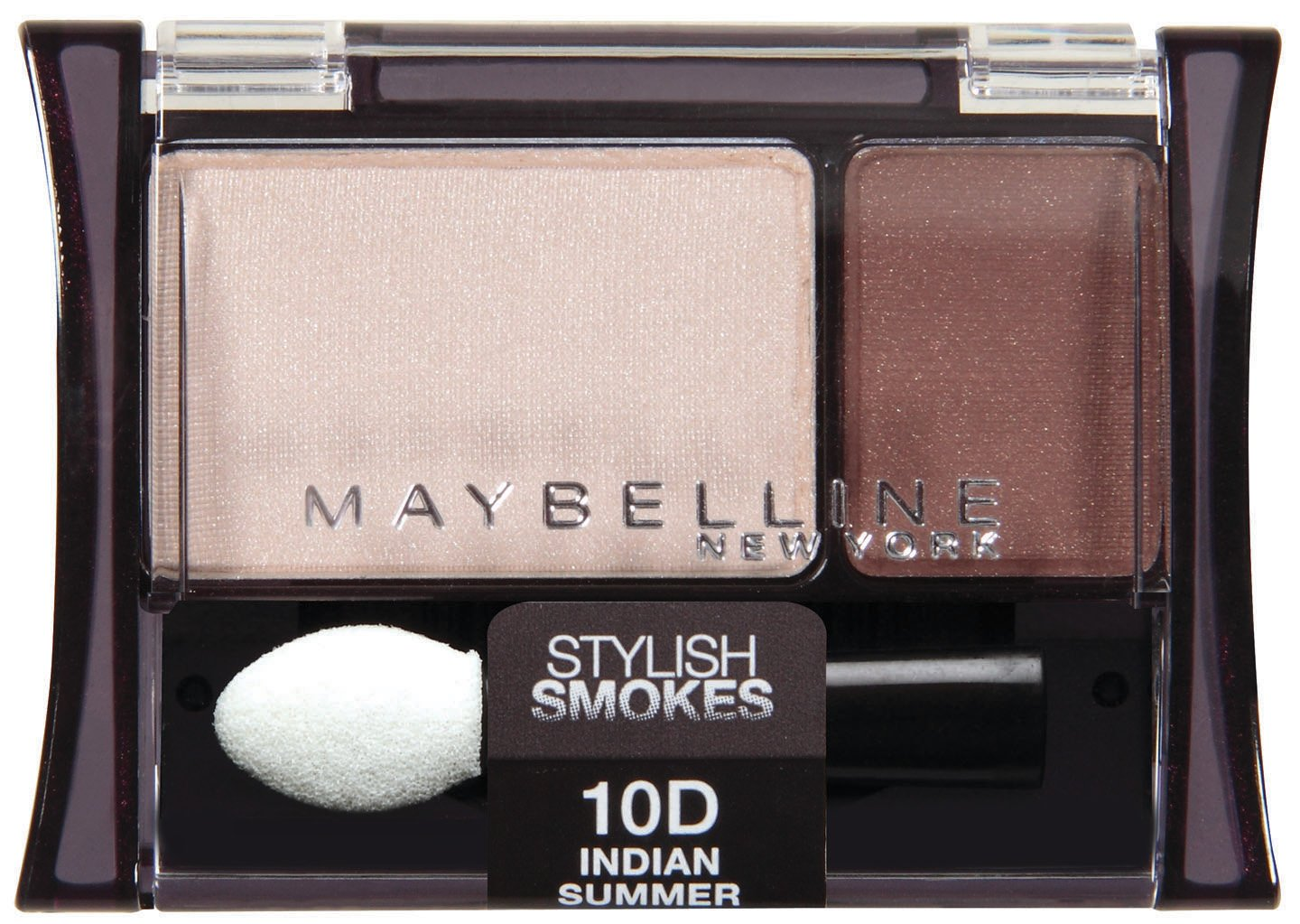 Maybelline New York Expert Wear Eyeshadow Duos, 10d Indian Summer Stylish Smokes, 0.08 Ounce