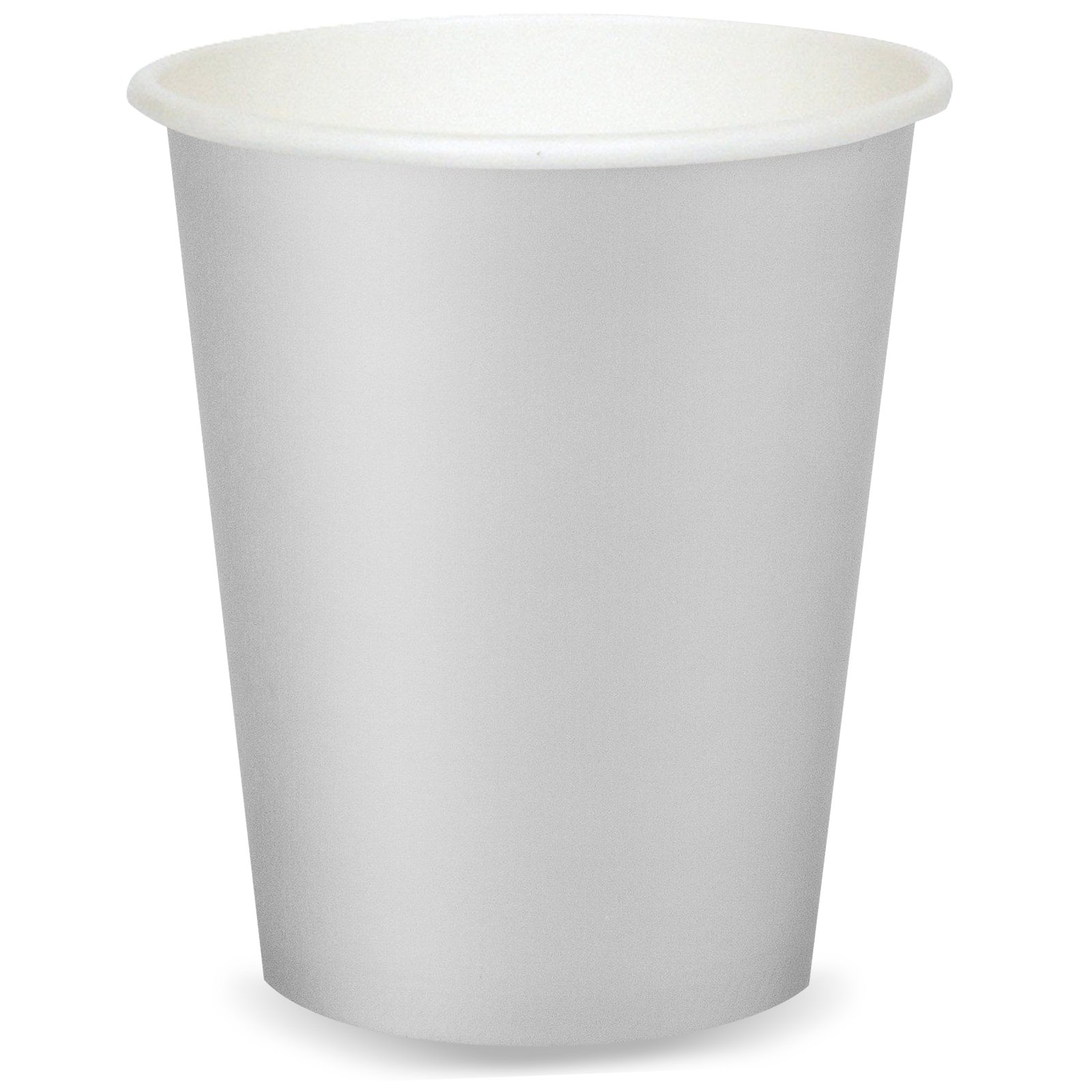 Gray Party Tableware Supplies 9 oz. Cups (24)