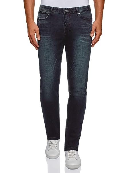 Amazon.com: oodji Ultra - Pantalones vaqueros para hombre ...
