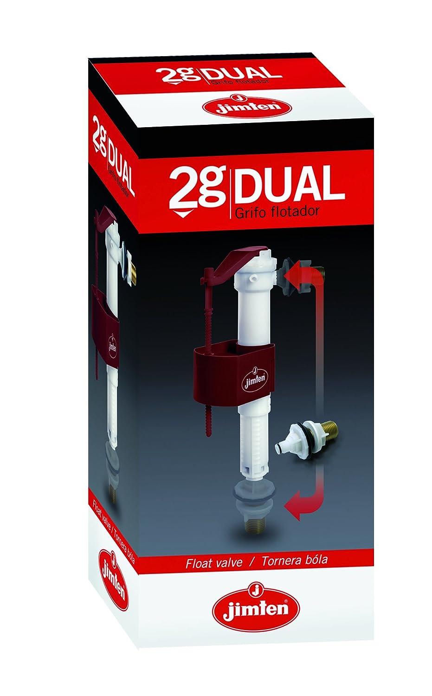Jimten 023250 Grifo Flotador Dual S-465 3/8: Amazon.es: Bricolaje y herramientas