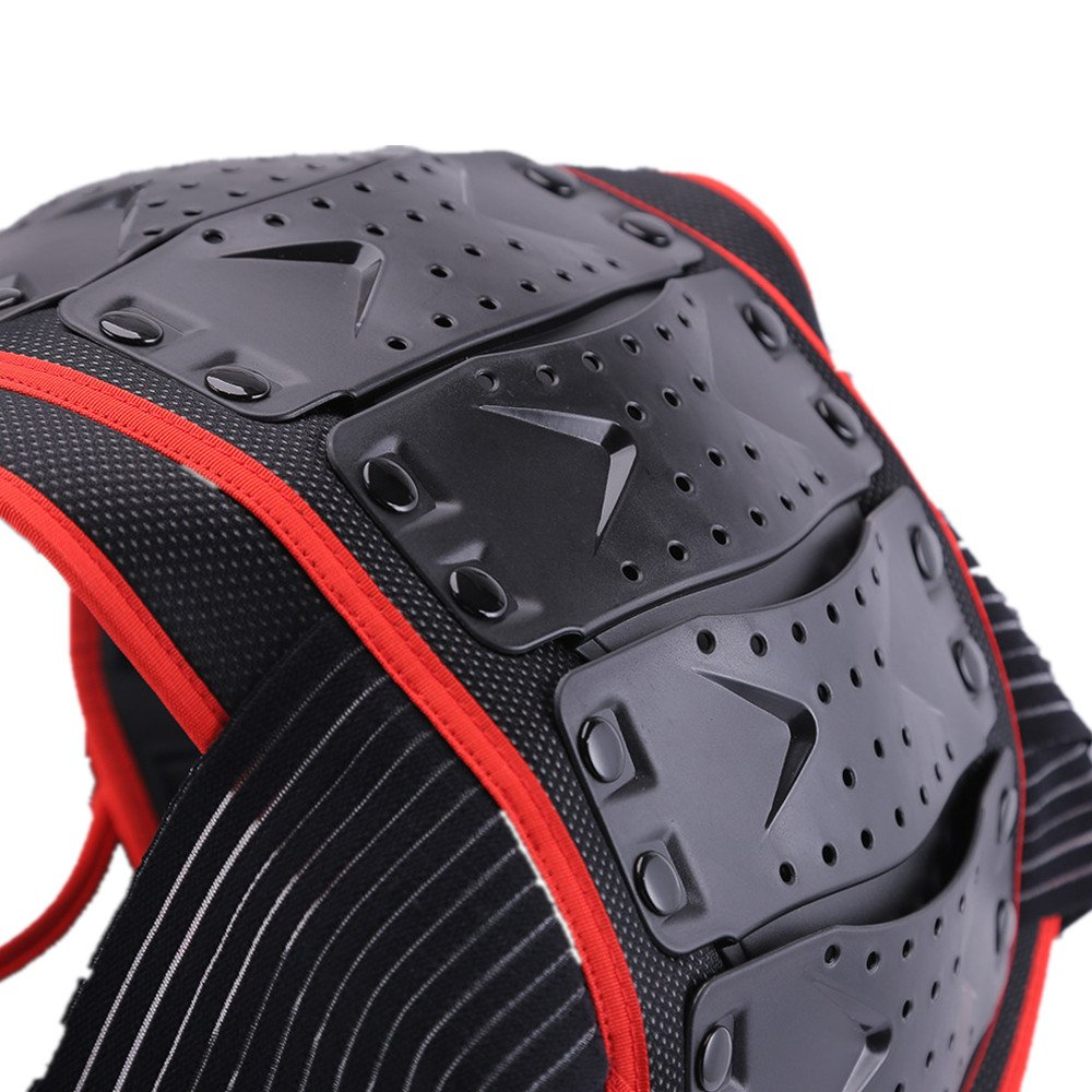 Zgsjbmh Motorrad Ganzk/örperschutz R/üstung Stra/ße Motocross Dirt Bike K/örper Brust Spine Protector R/üstung Weste Schutzausr/üstung f/ür Dirtbike Bike Motorrad Motocross Ski Snowboard Gr/ö/ße : S