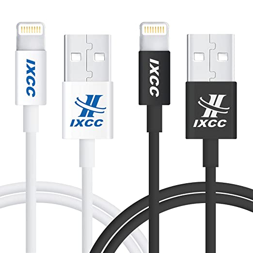 2 opinioni per Cavo Lightning,iXCC Cavo iPhone 1m Cavo Trasmissione Dati e Ricarica[Certificato