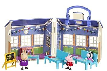 House Toys esJuguetes Peppa Playset Figures School Pig ByAmazon rQtdsh