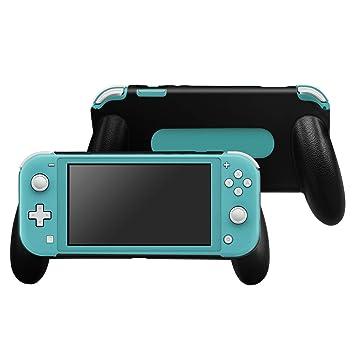 TechMatte Nintendo Switch Lite Funda de Agarre (Negro ...
