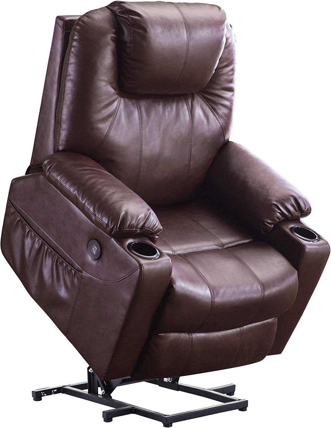 Mcombo Electric Power Lift Recliner Chair Sofa with Massage