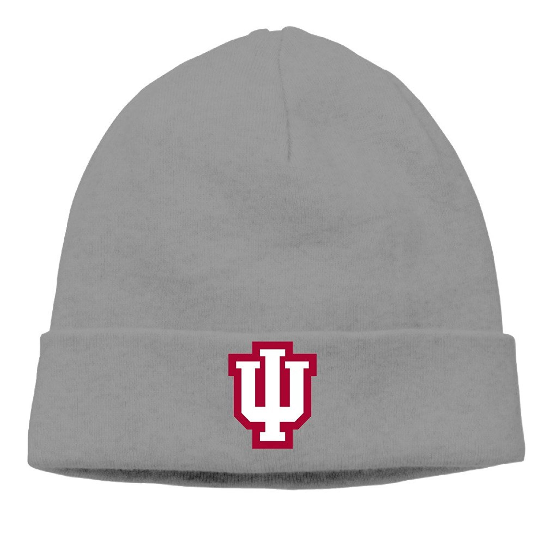 Indiana University-Bloomington Mascot Cap Hipster Beanie Winter Hats Christmas Flags